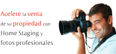 Home Staging y  fotos profesionales